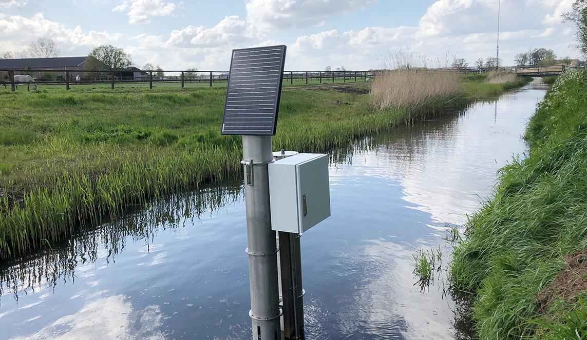 Autonome metingen waterkwaliteit